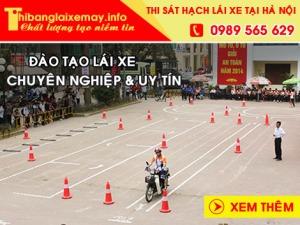 thi bằng lái xe máy a1 tại hà nội